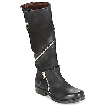 Zapatos Mujer Botas urbanas Airstep / A.S.98 SAINT EC ZIP Negro