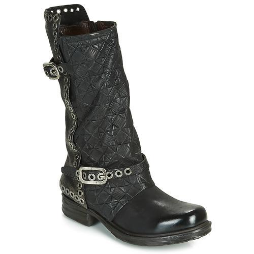 Airstep / A.S.98 SAINT EC BUCKLE Negro - Envío gratis | ! - Zapatos Botas urbanas Mujer
