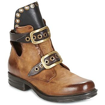 Zapatos Mujer Botas de caña baja Airstep / A.S.98 SAINT EC BOOT Camel