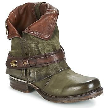 Zapatos Mujer Botas de caña baja Airstep / A.S.98 SAINT BIKE Kaki