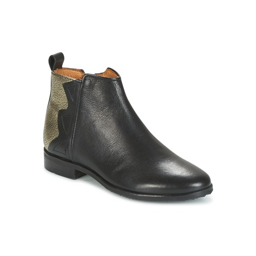 Adolie ODEON WILD Negro / Platino - Envío gratis | ! - Zapatos Botas de caña baja Nino