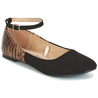 Zapatos Mujer Bailarinas-manoletinas Moony Mood GLIMY Negro