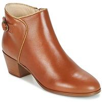 Zapatos Mujer Botines M. Moustache ELEONORE.M COGNAC / Oro