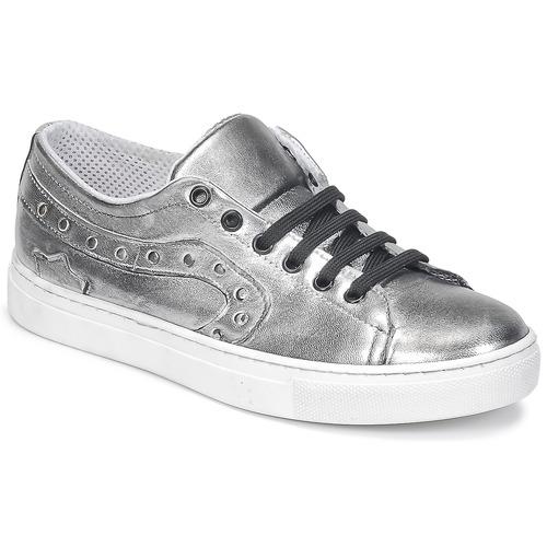 Los zapatos más populares para hombres y mujeres Zapatos especiales Lola Espeleta NOEME Plata