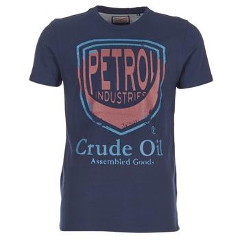 textil Hombre camisetas manga corta Petrol Industries TIRCO Marino