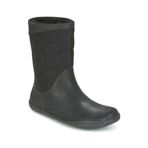Camper PEU CAMI Negro - Envío gratis Nueva promoción caña - Zapatos Botas de caña promoción baja Mujer 210,00 da431a