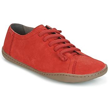 Zapatos Mujer Derbie Camper PEU CAMI Rojo