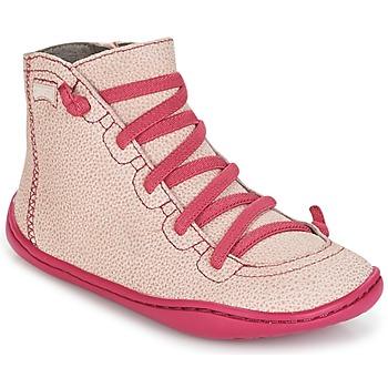 Zapatos Niña Zapatillas altas Camper PEU CAMI Rosa