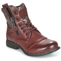 Zapatos Mujer Botas de caña baja Bunker SARA Burdeo