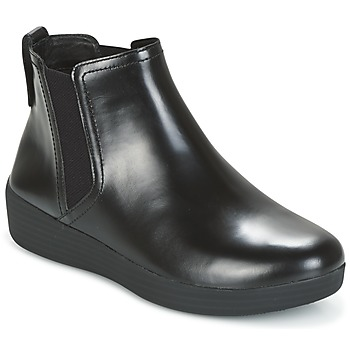 Zapatos Mujer Botines FitFlop SUPERCHELSEA BOOT All / Negro