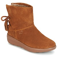 Zapatos Mujer Botines FitFlop MUKLUK SHORTY II BOOTS  WITH TASSELS Chestnut