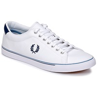 Zapatos Hombre Zapatillas bajas Fred Perry UNDERSPIN CANVAS Blanco