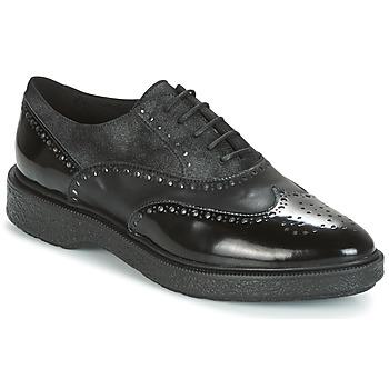 Zapatos Mujer Derbie Geox D PRESTYN Negro