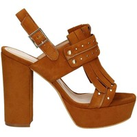 Zapatos Mujer Sandalias Bruno Premi K2603P High heeled sandals Mujeres Brown Brown