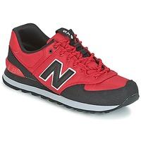 Zapatos Hombre Zapatillas bajas New Balance ML574 Rojo
