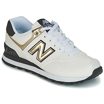 Zapatos Mujer Zapatillas bajas New Balance WL574 Blanco