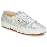 Zapatos Mujer Zapatillas bajas Superga 2750-LAMEW Silver