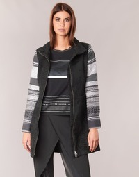 textil Mujer Abrigos Desigual GRAME Negro