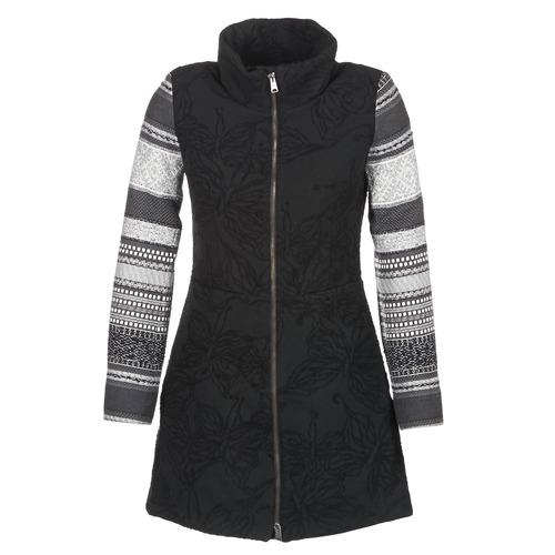 Desigual GRAME Negro - Envío gratis | ! - textil Abrigos Mujer