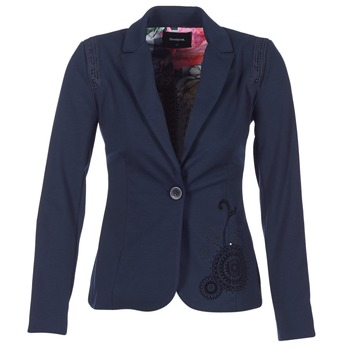 textil Mujer Chaquetas / Americana Desigual GROFA Marino
