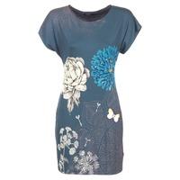 textil Mujer vestidos cortos Desigual MARTI Azul