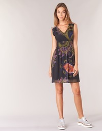 textil Mujer vestidos cortos Desigual GERCO Multicolor