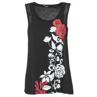textil Mujer camisetas sin mangas Desigual MAGEIS Negro