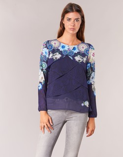 textil Mujer Tops / Blusas Desigual TAMA Azul