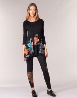 textil Mujer leggings Desigual JULEF Negro