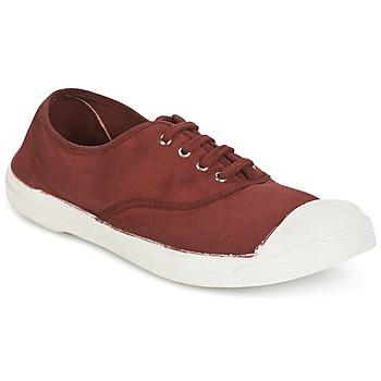 Zapatos Mujer Zapatillas bajas Bensimon TENNIS LACET Lie / DE / Vino