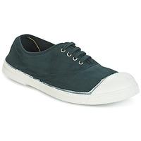 Zapatos Mujer Zapatillas bajas Bensimon TENNIS LACET Verde