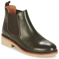 Zapatos Mujer Botas de caña baja Bensimon BOOTS CREPE Marrón