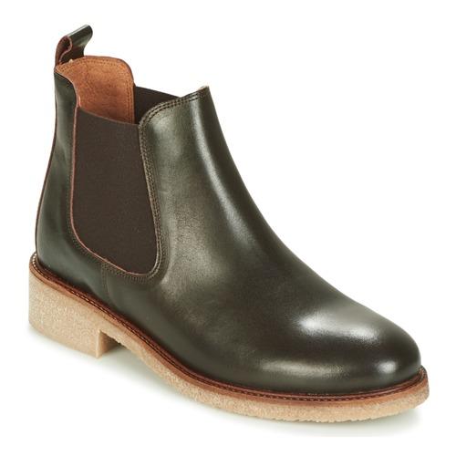 Zapatos casuales salvajes salvajes casuales Zapatos especiales Bensimon BOOTS CREPE Marrón 01a963