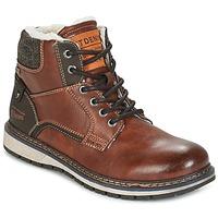 Zapatos Hombre Botas de caña baja Tom Tailor LORENZA Marrón