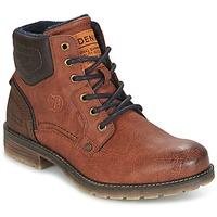 Zapatos Hombre Botas de caña baja Tom Tailor TIAGO Marrón