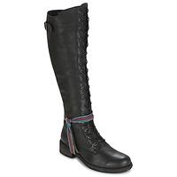 Zapatos Mujer Botas a la rodilla Felmini HARDY Negro