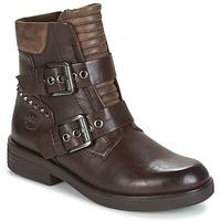 Zapatos Mujer Botas de caña baja Marco Tozzi POUDREE Marrón