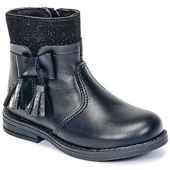Zapatos Niña Botas de caña baja Citrouille et Compagnie HEYLI Negro