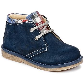 Zapatos Niño Botas de caña baja Citrouille et Compagnie HEYLI Marino
