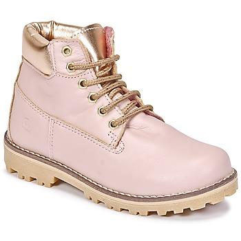 Zapatos Niña Botas de caña baja Citrouille et Compagnie HICHOU Rosa