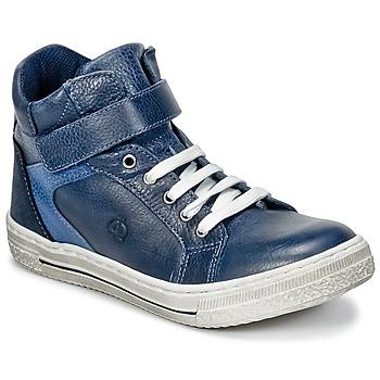 Zapatos Niño Zapatillas altas Citrouille et Compagnie HOCHOU Marino