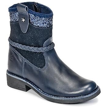 Zapatos Niña Botas de caña baja Citrouille et Compagnie HAYO Azul