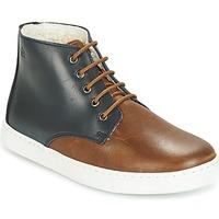 Zapatos Niño Botas de caña baja Citrouille et Compagnie HILABOUL Marrón / Marino