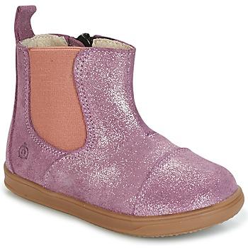 Zapatos Niña Botas de caña baja Citrouille et Compagnie HUETTE Rosa