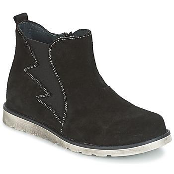 Zapatos Niño Botas de caña baja Citrouille et Compagnie HISSA Negro