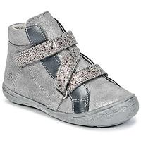 Zapatos Niña Zapatillas altas Citrouille et Compagnie HISSOU Gris