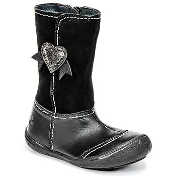 Zapatos Niña Botas urbanas Citrouille et Compagnie HYDIL Negro