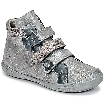 Zapatos Niña Botas de caña baja Citrouille et Compagnie FALIE Gris