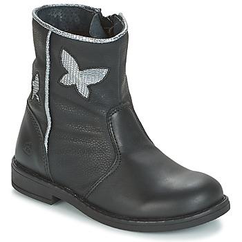 Zapatos Niña Botas de caña baja Citrouille et Compagnie HORELI Negro