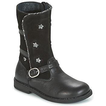 Zapatos Niña Botas urbanas Citrouille et Compagnie HANDRE Negro